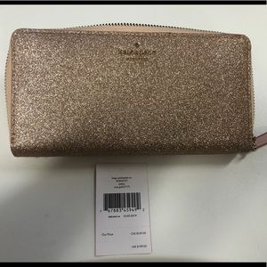 KATE SPADE ♠️NEW YORK BRAND NEW  ROSE GOLD WALLET